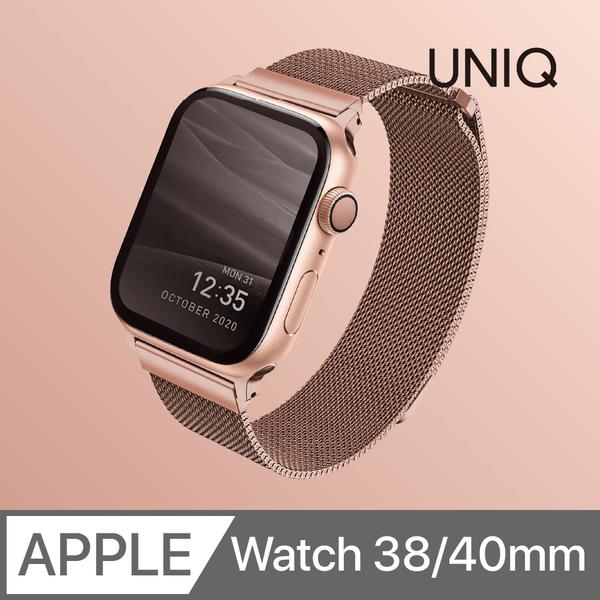 UNIQ Dante Apple Watch Milan Cikou stainless steel strap 38 / 40mm rose gold