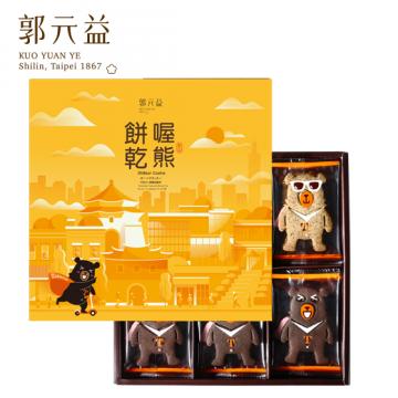 [郭元益] 喔熊OhBear 餅乾 24入 (附提袋)