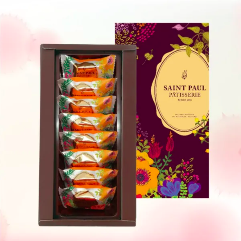 [SANIT PAUL] 鳳凰酥 (8入/盒) x3盒 (附提袋)