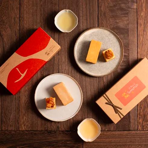 [微熱山丘]  鳳梨酥蘋果酥 - 禮盒 x5盒 (附提袋)