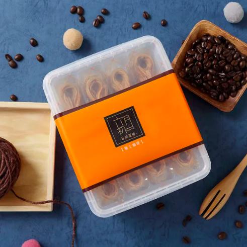 [六月初一] 8結蛋捲 - 極上咖啡 (320g/40顆) x5盒