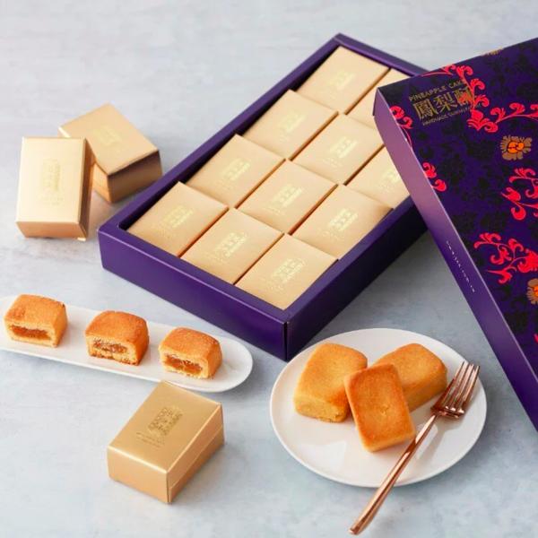 [舊振南] 鳳梨酥禮盒(12入) x5盒 (附提袋)