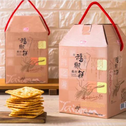 [福義軒] 福椒蘇打餅禮盒 x5盒