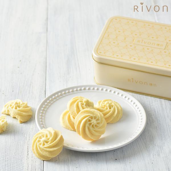 [禮坊] 法式曲奇餅(奶油原味) x3盒 (附提袋)