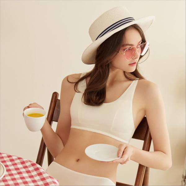 曼黛瑪璉 marie Q系列短背心 M-XL(舒適黃)