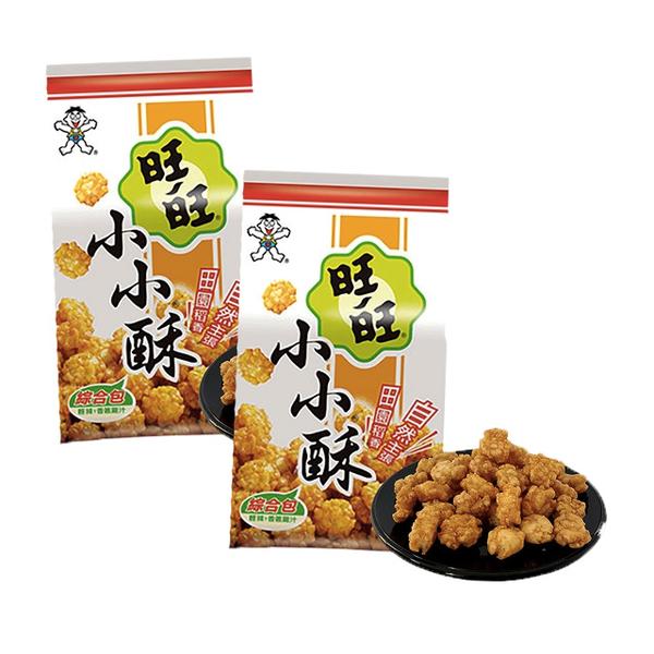 【旺旺】小小酥綜合包(輕辣+香蔥雞汁)150gx2