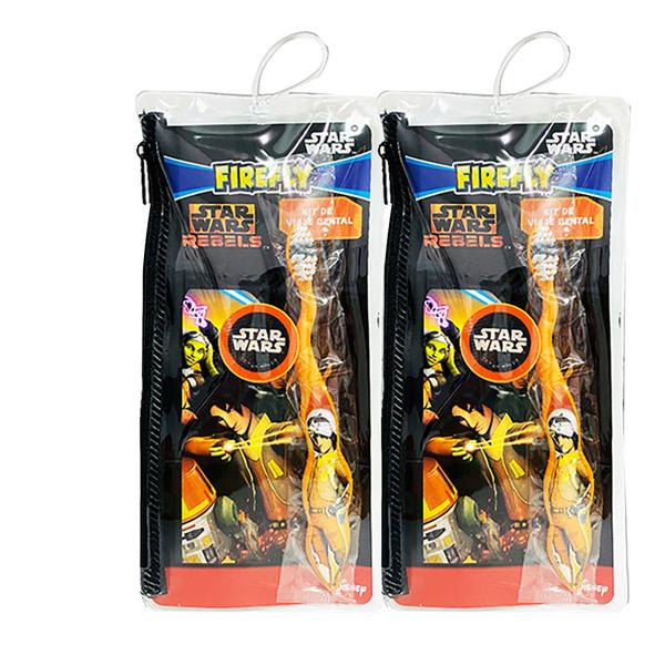 超值2入Star War兒童牙刷拉鍊袋(適合3歲以上)
