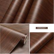 สติกเกอร์ วอลเปเปอร์ ลายไม้ มี 4 สี ขนาดหน้ากว้าง 61 cm X 1เมตร