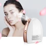 Lavany เครื่องอบไอน้ำหน้า มีโหมดร้อนและโหมดเย็น Facial Steamer Nano Ionic Hot & Cool Mist Moisturizing Face Steamer