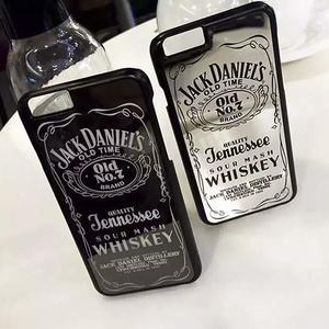 เคสไอโฟน สีเมทัลลิก ฝาหลัง Jack Daniel's Whiskey (รหัสสินค้า : AT-007)