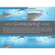 Sharkbanz สายรัดข้อมือป้องกันฉลาม Active Shark Deterrent Band V2.0 Designed for Beachgoers Swimmers and Surfers