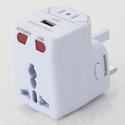 หัวแปลงปลั๊กไฟ + USB (รหัสสินค้า : HW-011)