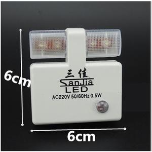ปลั๊กไฟ LED เซนเซอร์แสง (รหัสสินค้า : AT-005)