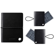 ROTATY กระเป๋าหนังใส่ Memory SIM Card จุได้เยอะ (2 SD, 6 Micro SD, 2 Standard SIM, 3 Micro SIM,4Nano)