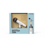 จุกปิดไวน์ไมโครโฟน Rocket Dynamike BOTTLE CAP Microphone Design Fits any standard sized bottle Silicone  Bottle Cap