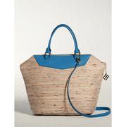 ELECONCE PARALLEL กระเป๋าถือ/ครอสบอดี้ (สีเหลืองทราย)