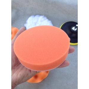 ชุดฟองน้ำขัดสีรถ ขนาด 5 นิ้ว (รหัสสินค้า : GJ-022)