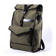 FILO N1D ห้องดีลักซ์โอลีฟกรีน (แพ็ควันไนล่อน) กระเป๋าเป้สะพายหลัง 1 วันพร้อมกระเป๋าใส่ขวดน้ำ