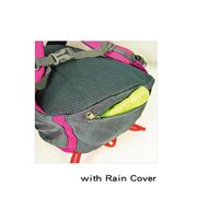 Goannar กระเป๋าเป้สปอร์ตแบบ LED พร้อมสายกันฝน 25 ลิตร