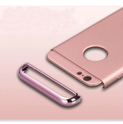 เคสไอโฟนประกอบ 3 ชิ้น สีเมทัลลิค (รหัสสินค้า : AT-015)