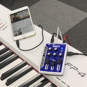 Maker hart JUST MIXER มินิเครื่องเสียงผสม 3 ช่อง