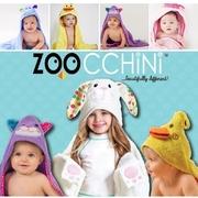 ZOOCCHiNi ผ้าขนหนูเช็ดตัวเด็กเล็ก 0-18เดือน COTTON 100% เนื้อนุ่มซับน้ำดีเยี่ยม 76 x 76 cm.